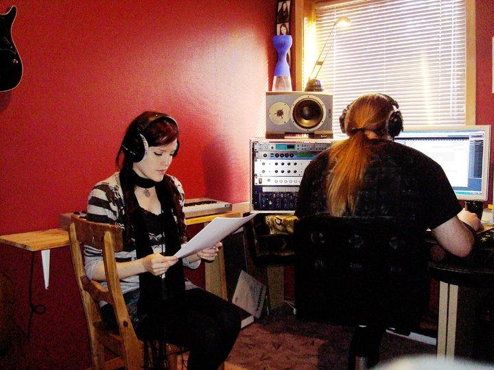 Recording in Studio Ailynm16