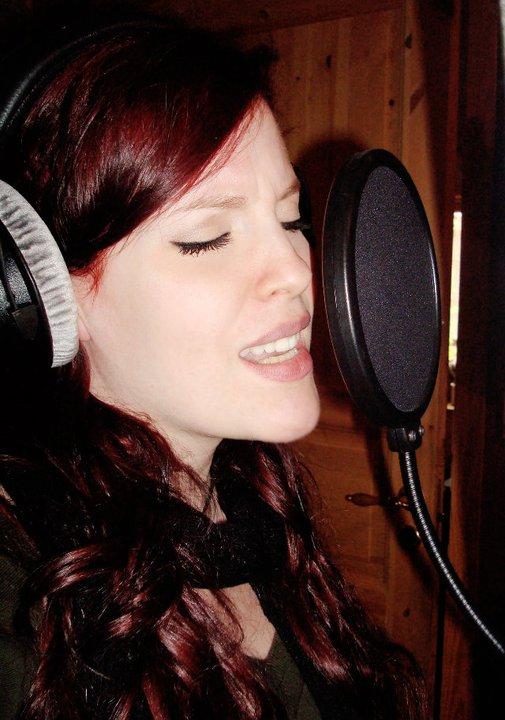 Recording in Studio Ailynr10