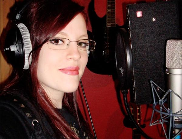 Recording in Studio Ailyns11