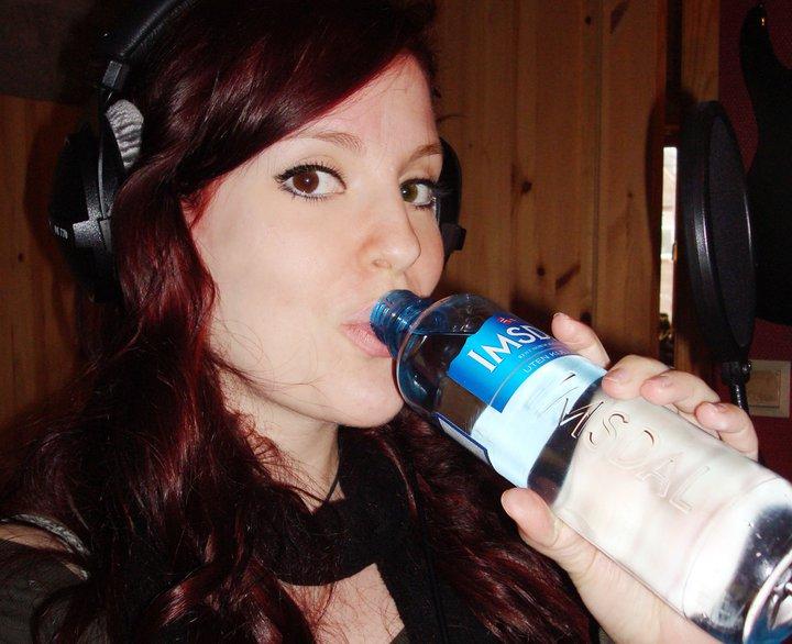 Recording in Studio Ailynw10