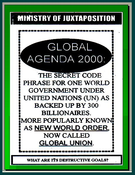 ONE WORLD GOVERNMENT - NEW WORLD ORDER UNDER UNITED NATIONS Pnypd114