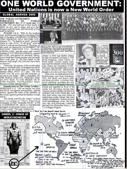 ONE WORLD GOVERNMENT - NEW WORLD ORDER UNDER UNITED NATIONS Pnypd117