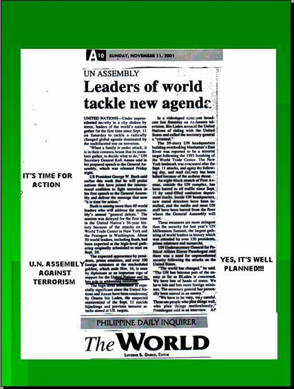 ONE WORLD GOVERNMENT - NEW WORLD ORDER UNDER UNITED NATIONS Pnypd121