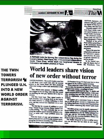 ONE WORLD GOVERNMENT - NEW WORLD ORDER UNDER UNITED NATIONS Pnypd122