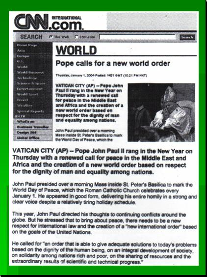 ONE WORLD GOVERNMENT - NEW WORLD ORDER UNDER UNITED NATIONS Pnypd125