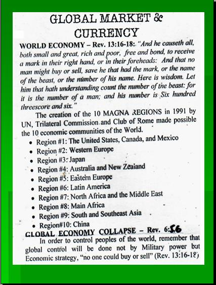 ONE WORLD GOVERNMENT - NEW WORLD ORDER UNDER UNITED NATIONS Pnypd133