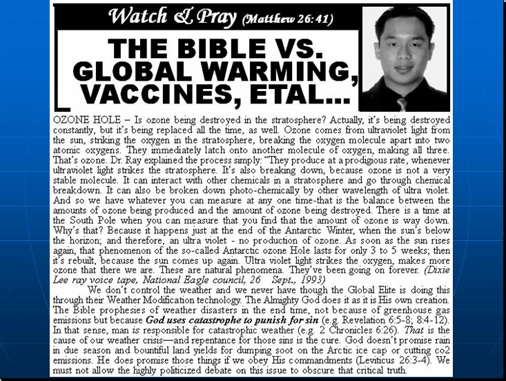 GLOBAL WARMING Pnypd316