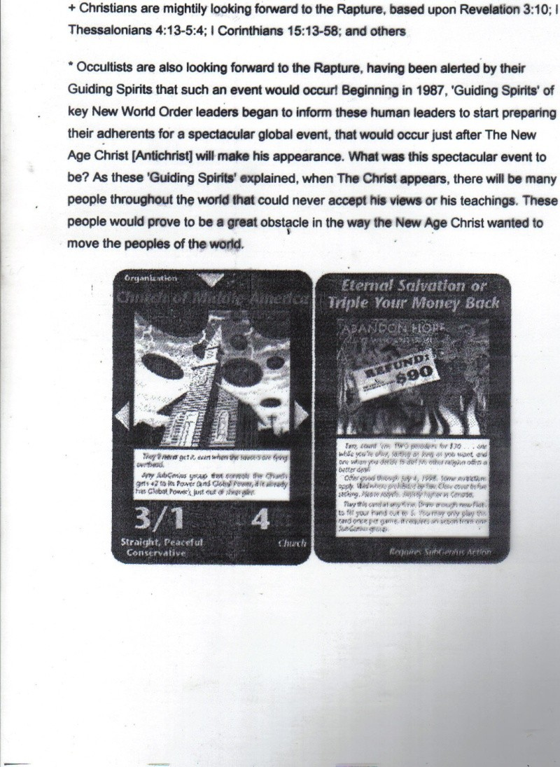 One World Government Expose - INWO SUB-GENIUS GAMES - HOW THE RICH WILL DESTROY TO CONQUER, A GAME BY STEVE JACKSON Pp1110