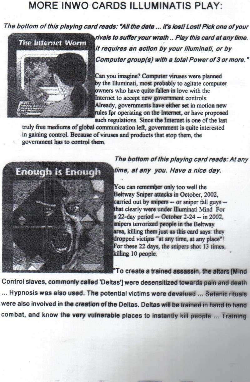 One World Government Expose - INWO SUB-GENIUS GAMES - HOW THE RICH WILL DESTROY TO CONQUER, A GAME BY STEVE JACKSON Pp1210