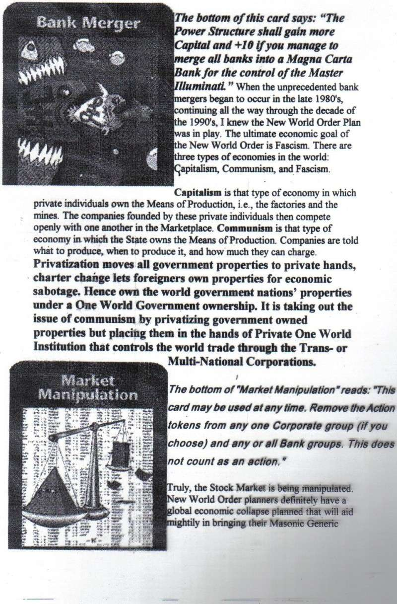 One World Government Expose - INWO SUB-GENIUS GAMES - HOW THE RICH WILL DESTROY TO CONQUER, A GAME BY STEVE JACKSON Pp1910