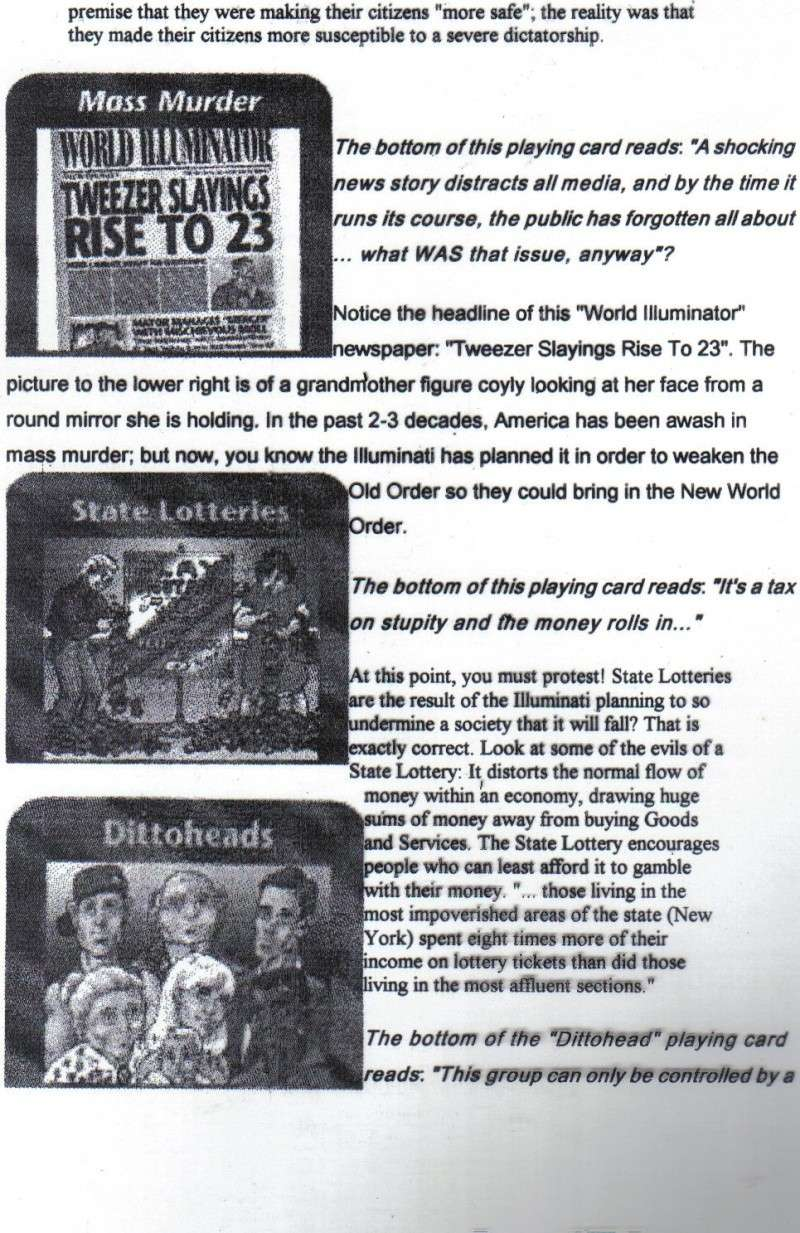 One World Government Expose - INWO SUB-GENIUS GAMES - HOW THE RICH WILL DESTROY TO CONQUER, A GAME BY STEVE JACKSON Pp2310