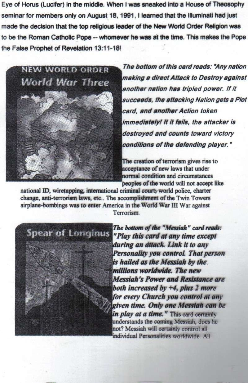 One World Government Expose - INWO SUB-GENIUS GAMES - HOW THE RICH WILL DESTROY TO CONQUER, A GAME BY STEVE JACKSON Pp2810