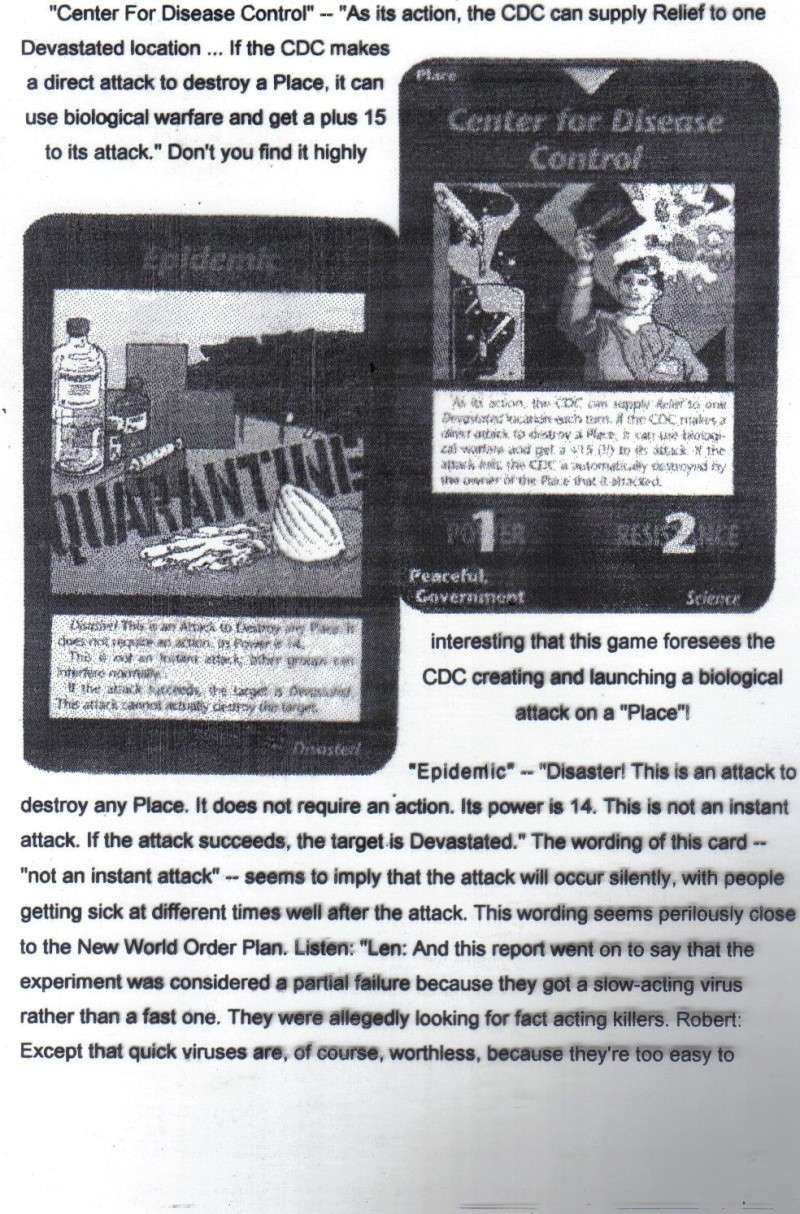 One World Government Expose - INWO SUB-GENIUS GAMES - HOW THE RICH WILL DESTROY TO CONQUER, A GAME BY STEVE JACKSON Pp810