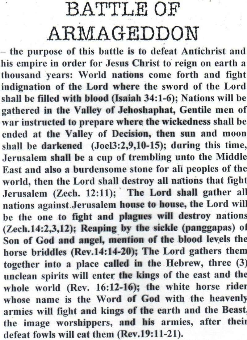 TOPIC I : FUTURE EVENTS / RAPTURE, REBUILDING OF THE 3RD TEMPLE, JUDGMENT SEAT OF CHRIST, MARRIAGE SUPPER OF THE LAMB, TRIBULATION PERIOD, RUSSIAN INVASION, BATTLE OF ARMAGGEDDON, SECOND COMING IN GREAT POWER, SATAN IN BOTTOMLESS PIT, ETC.... St1110