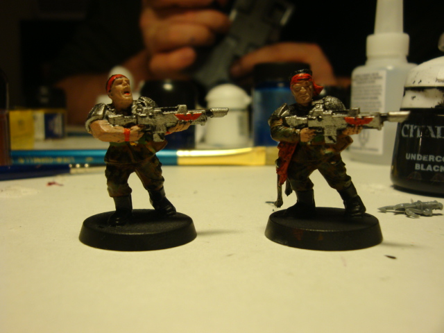 Opinions on Models/painting 911
