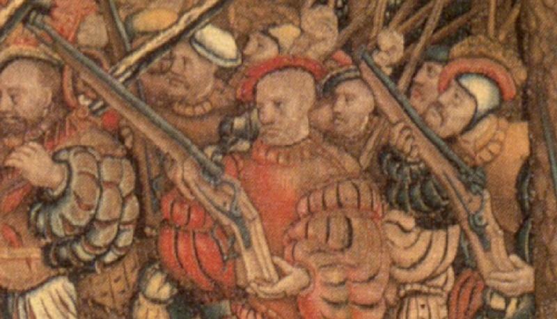 Le trou dans la crosse de l'arquebuse 1530_f10