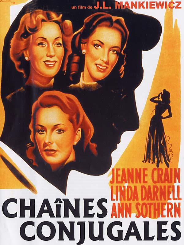 Chaînes conjugales (A Letter to Three Wives) de Joseph L. Mankiewicz 2659-b10