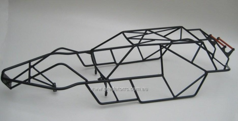 Estructuras de metal para nuestros bajas: Predat10