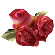 Làm nơ hoa hồng Bevfab12