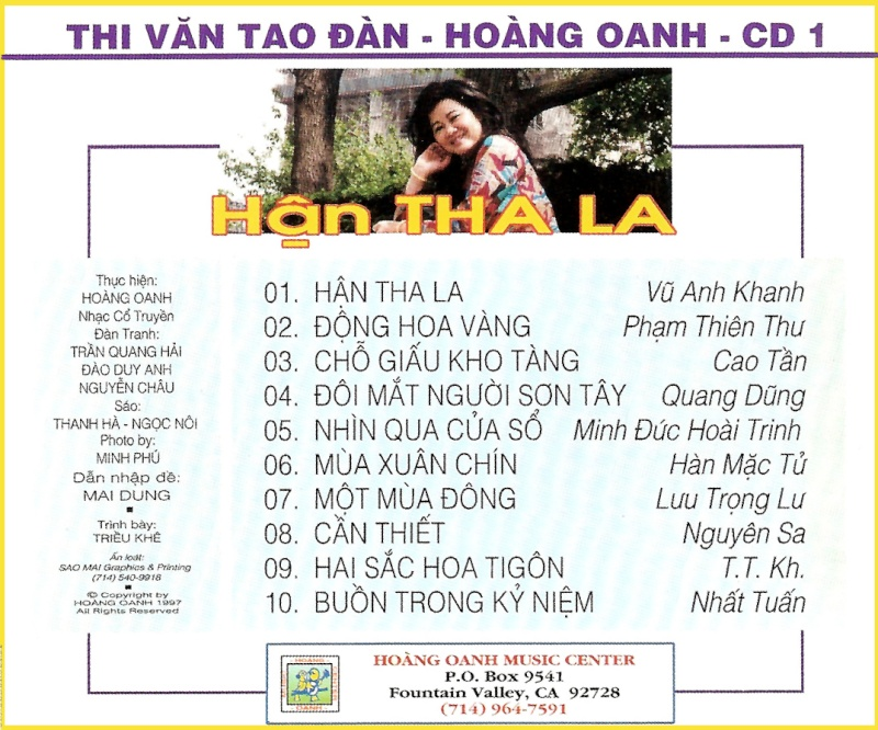 Hận Tha La - Hoàng Oanh Han_th10
