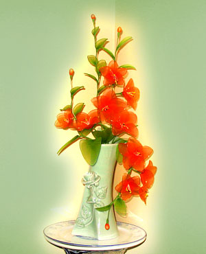 Cách làm hoa voan Locnon11