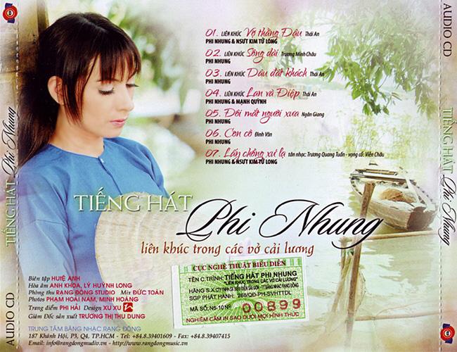 Tiếng hát Phi Nhung - liên khúc cải lương Tiengh11