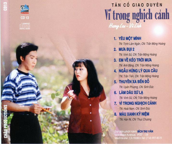 Vì trong nghịch cảnh - Hương Lan, Vũ Linh Vitron11