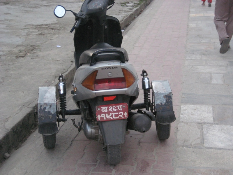 Scooter  , pour debutant  Nepal_10