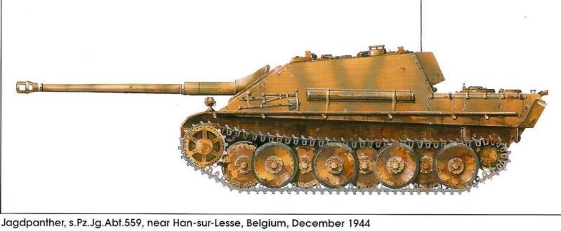 Jagdpanther et camouflage 18443310