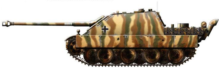 jagdpanther - Jagdpanther et camouflage Jagdpa10