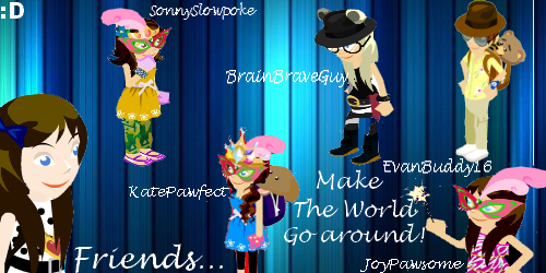 My new friends graphic! :D Friend13