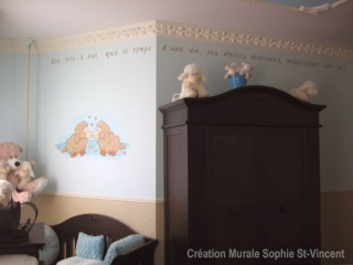 Chambre bébé : thème moutons - Premières photos P4 Monton11