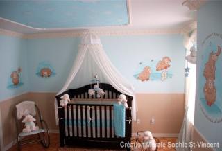 Chambre bébé : thème moutons - Premières photos P4 Mouton11