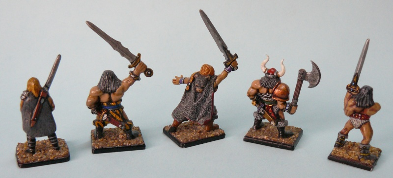 Barbarian Warband Barbar11