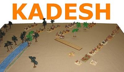 La battaglia di Qadesh Kadesh14