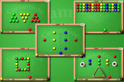 New Game with SIO2 - Carambole Pool Puzzles Appsto10