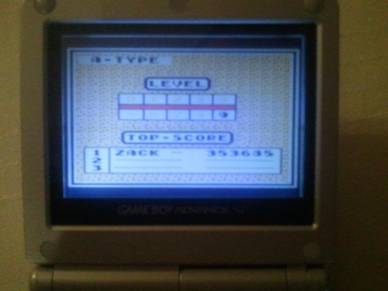 high score tetris game boy (nombres de points et nombres de lignes) Photo025