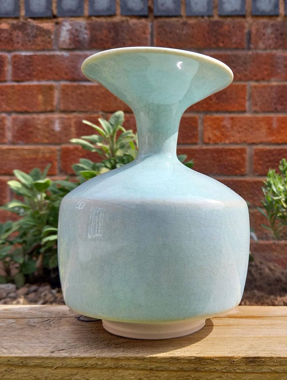 "Celadon Vase ""M"" mark 20210415"