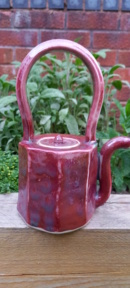 Celadon and Red teapot 20210611