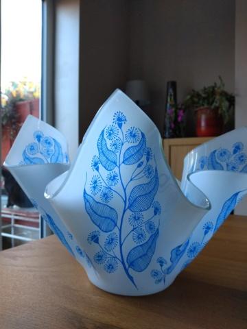 Scarce Chance Glass Handkerchief Vase Img_2060