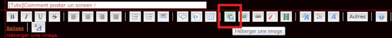 [Tuto]Comment poster un screen ! Tuto110