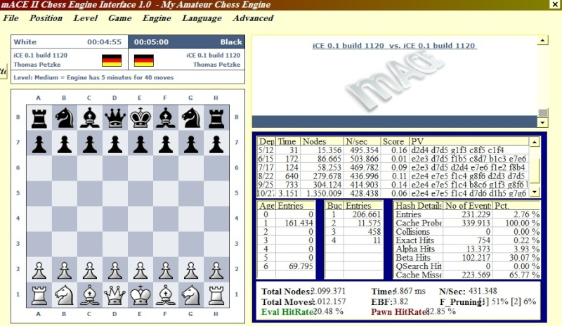 "Chess Engine GUI ""New"" Macech10"