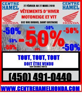 Grande Vente Vêtements d'hiver Centre Hamel Honda 27 février au 27 Mars 2010 Image010