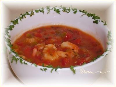 Soupe crevettes épicée Pict7710