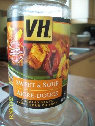 Petites boulettes sauce aigre-douce Sauce110