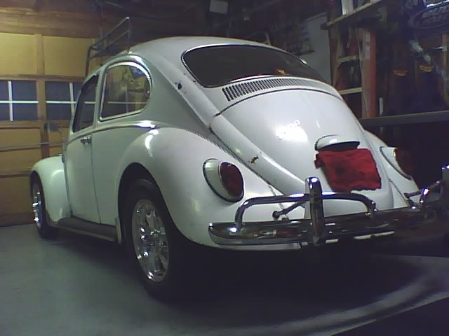 My 66 Beetle Rear6610
