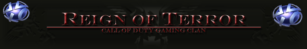 RoT Reign of Terror PS3 Gaming Clan