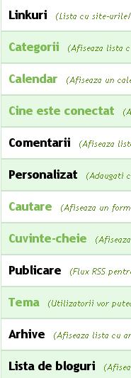 Ce sunt modulele si cum se pot personaliza acestea? Categb12