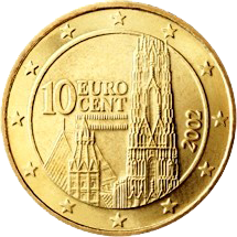 Monuments sur les pièces d'Euro  10_eur10