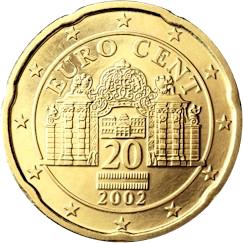 Monuments sur les pièces d'Euro  20_eur10
